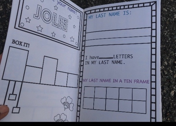 Travelers Note Book Name Activities for Preschool Age 2-5- Please see our