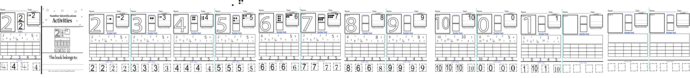 0-10-Number Printable- Number Formation Pre-K  Please see our Tutorial BEFORE