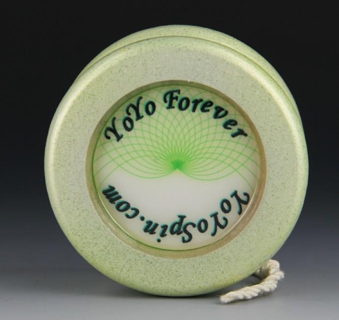 Butterfly Fixed Axle Maple Wood Yo-Yo, made by YoYoSpin