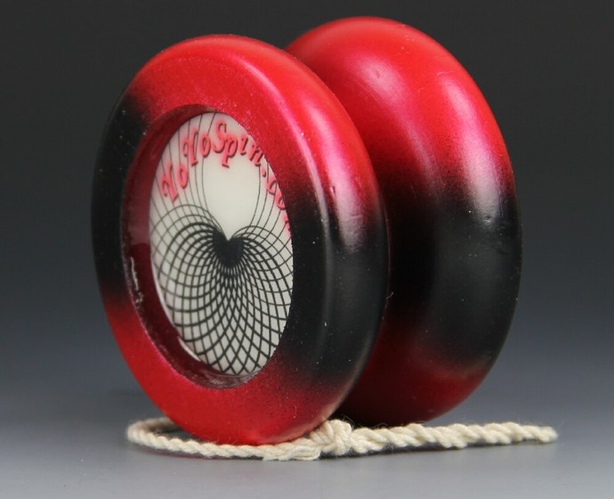 Butterfly Fixed Axle Maple Wood Yo-Yo, made by YoYoSpin