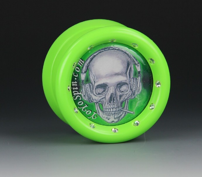 "YoYoFactory ""One"" Bearing Axle Yo-Yo, modded by YoYoSpin"