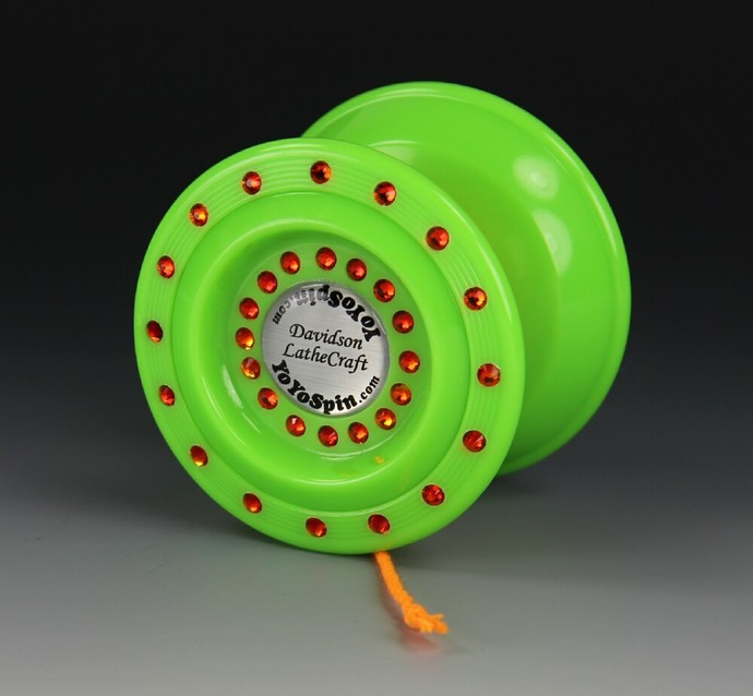 Asteroid Bearing Axle Yo-Yo, modded by YoYoSpin