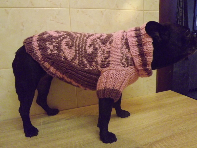 Sweater coat for dogs 2 -3 XL
