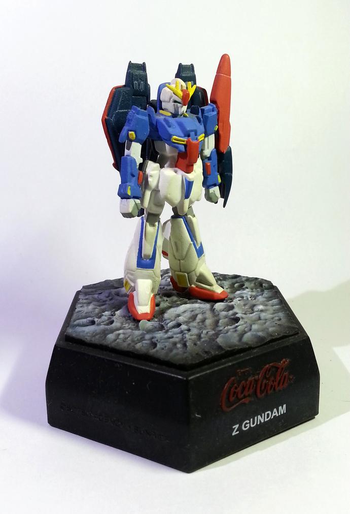 Coca Cola X Gundam 25th Anniversary Limited Figure - Z GUNDAM Japanese Anime