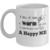 Personalized Happy Me Crochet Gift Mug for the Crochet Lover in you Family