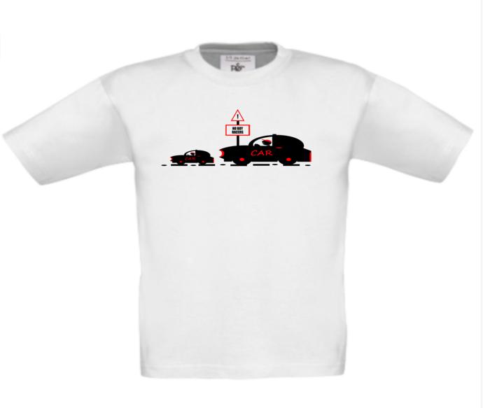 CHILDREN'S BOY RACER T-SHIRT TOP - Kids car t-shirt top - This t-shirt can be