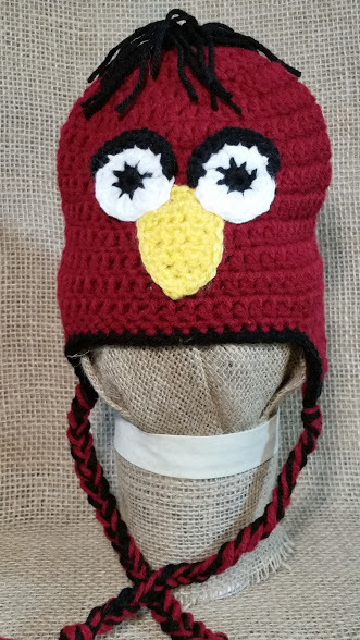 Crocheted Chicken Hat By Exit2beaches On Zibbet