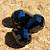 Black Chinese Crystal Teardrop Beads 10-
