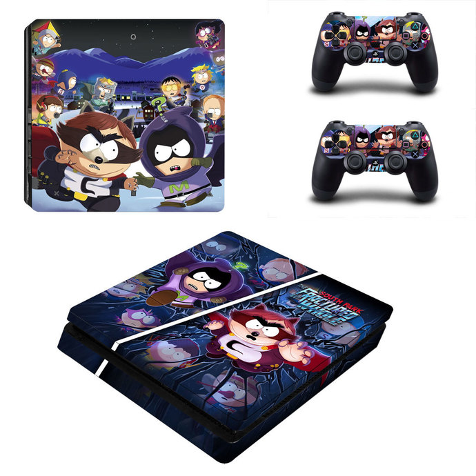 South Park The Fractured But Whole ps4 slim skin decal for console and