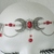 Red Triple Moon Circlet