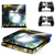 Bursting Moon ps4 skin decal for console and 2 controllers