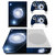 Bright Moon decal skin for xbox one S console and 2 controllers