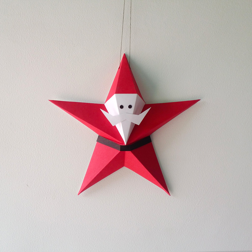 File Decoration Designs: DIY Santa Claus, Santa Claus Dangler,car By Paperamaze On