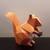 DIY Papercrafts,Paper Squirrel,Squirrel with nut,Printable squirrel,Chipmunk