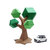DIY Papercrafts, Lowpoly Bonsai Tree, paper Tree, Paper Bonsai , paper plants,