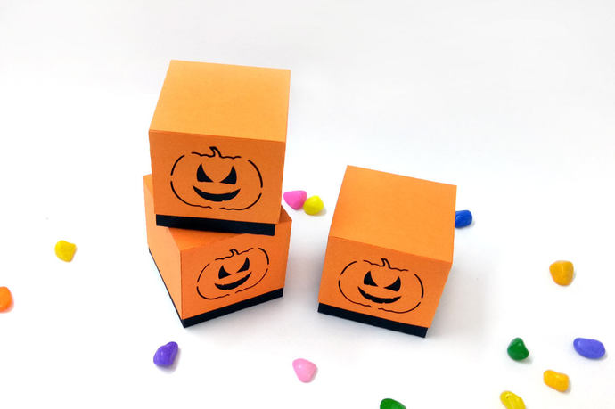 Halloween favor,Pumpkin favour,SVG files,DXF files,Cricut,Silhouette