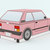 DIY printable Car favor box,papercraft,Instant digital download, paper gift