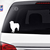 Australian Shepherd Silhouette Decals, two sizes & varieties available
