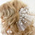 "Fantasy HAIR COMB ""Lora"" One (1) White Wedding Honeymoon, Party, Holidays, Dress"