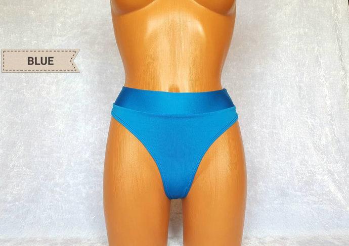 Scrunched high waisted bikini Cheeky Bikini Thong bikini Scrunch Bikini Bottoms