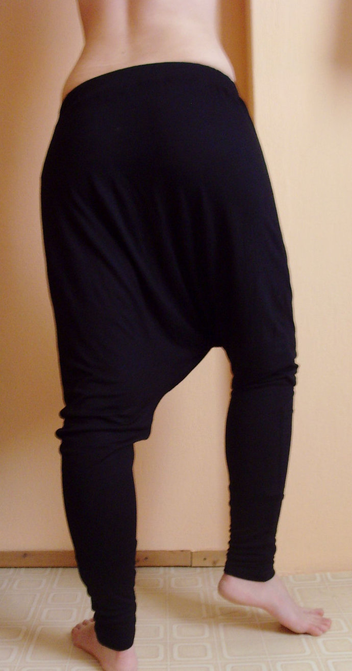YOGA PANTS | Harem Sweatpants | Drop Crotch Pants | Harem Trousers | Maternity