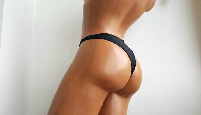 High waist bikini bottom 90s High waist bikini bottoms Cheeky Bikini Bottoms
