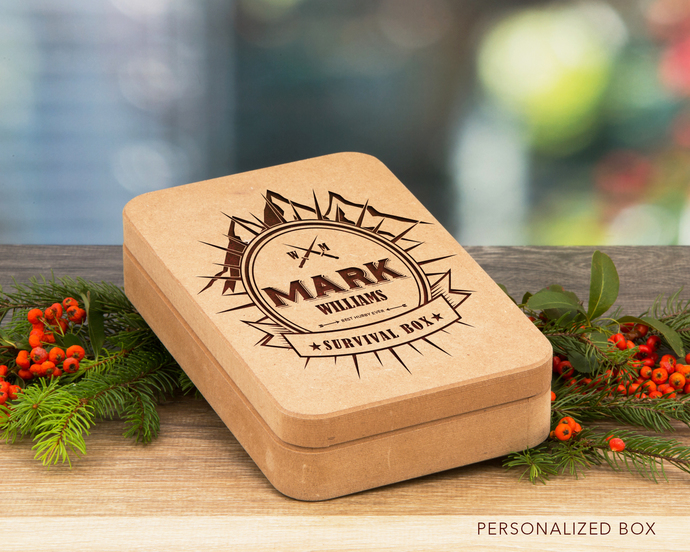 Personalized Box for him, Luxury gift idea, Christmas Gift, Gift for Him, Men