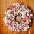 RAG Wreath-CHRISTMAS Wreath--Scraggle Wreath-ON SALE-HANDMADE--Country Cotton