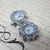 2 pcs Real Watch Set - Silver/Clear