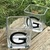 Personalized Monogram Square Glass Candleholders