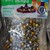 Brand New Metallic Pony Bead Mix-Silver Gold 1.94 oz bag