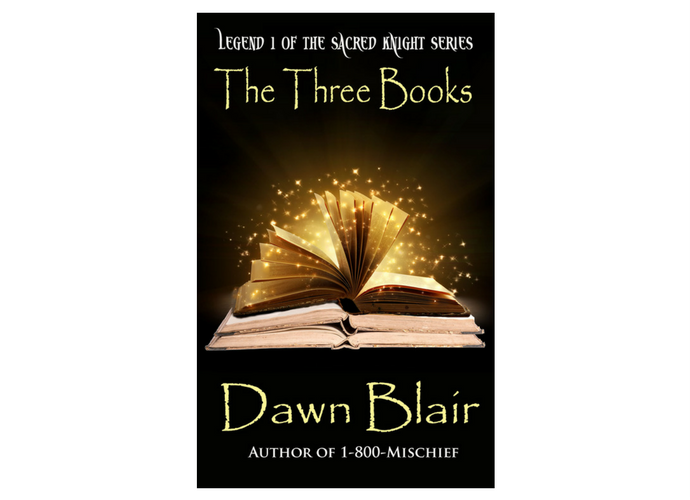 The Three Books (Book 1 of Sacred Knight series)