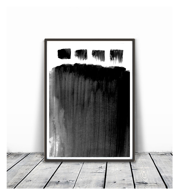 Black and White Wall Art Prints, Modern by SemelArt on Zibbet