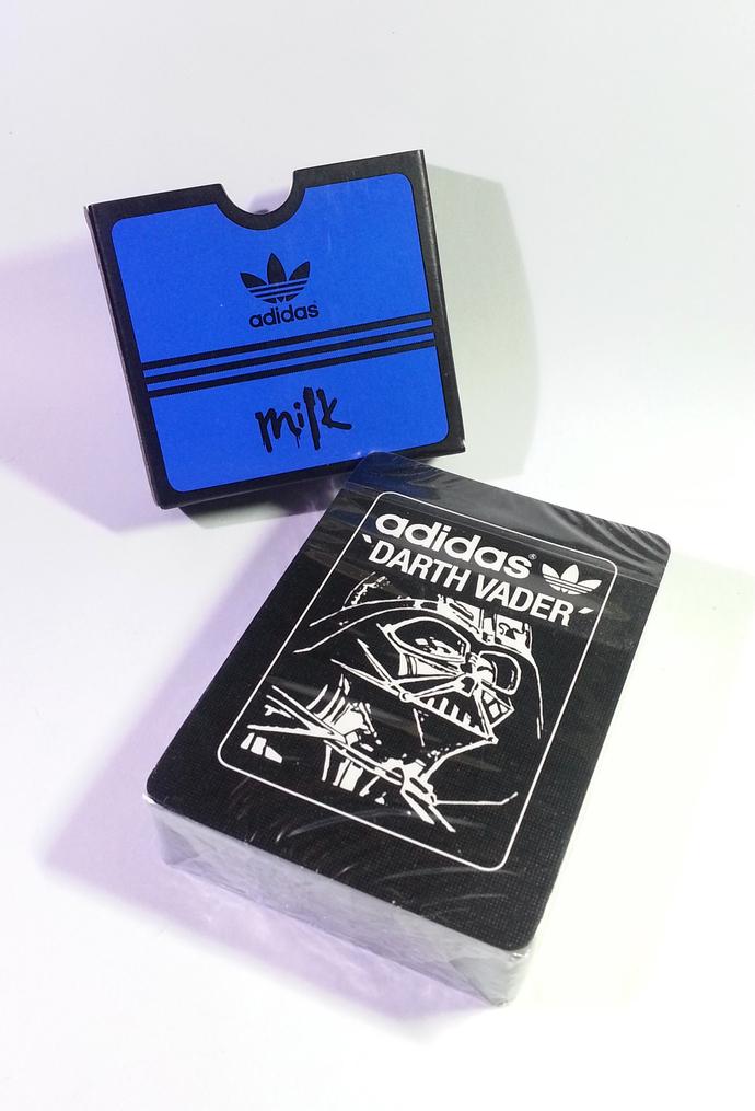 Adidas X Star Wars Black Darth Vader Playing Cards - Hong Kong Exclusive Item -
