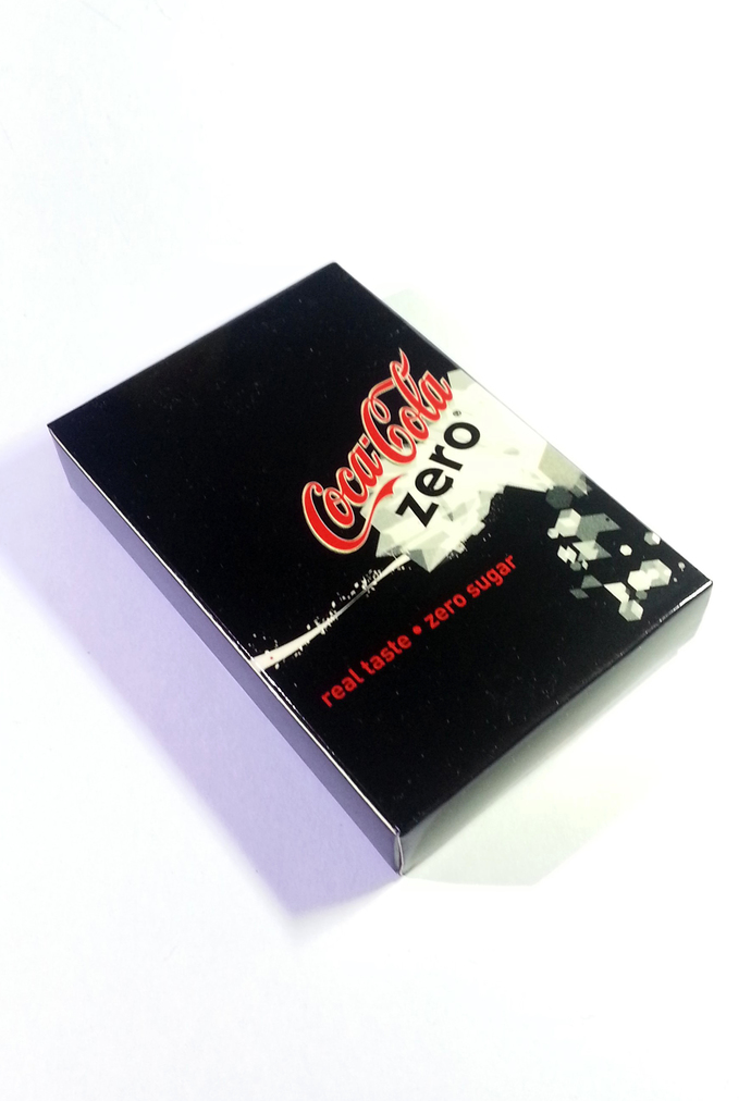 Coca Cola Zero Playing Cards - Hong Kong Exclusive Item - New Unsealed Complete