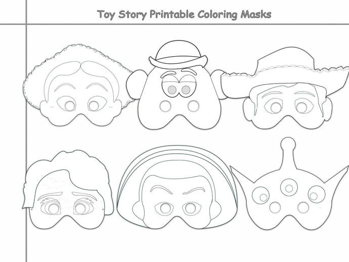 picture regarding Printable Toys referred to as Toys Printable Coloring Masks, toy mask, cowboy, cowgirl, alien, spaceman, celebration masks, toy tale coloring, paper mask, toy gown, props