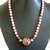 Jewelry Gift Set, Pearl and Copper, Coral and Copper, Handcrafted Jewelry, Pearl