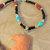 Eagle Pendant, Native Style, Jasper Pendant Necklace, Brecciated Jasper and