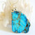 Imperial Jasper Pendant, Silver Wire Wrap, Pendant Necklace, Handcrafted