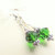 Jewelry Gift Set, Emerald Green and Silver, Crystal Jewelry, Emerald and Silver,