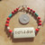 Native Style Bracelet, Cherokee Language, Remembrance Jewelry, Handcrafted