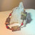 Picasso Jasper Bracelet, Chunky Bracelet, Sandalwood Jewelry, Handcrafted