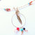 Charm Holder Pendant, Gift for Grandmother, Handcrafted Jewelry, Native Style,
