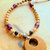 Jasper and Amethyst Necklace, Southwestern Style, Gemstone Jewelry, Native