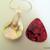 Blister Pearl Pendant, Teardrop Pendant, Shell Pendant, Champagne Pearl, Wedding