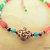 Copper Anklet, Carnelian and Seed Bead Anklet, Ankle Bracelet, Copper Bracelet,