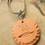 Cherokee Language Pottery Pendant, Tsalagi Pendant, Native Style, Wire Wrap