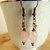 Rose Quartz Earrings, Dangle Earrings, Copper Jewelry, Rose Quartz Jewelry,