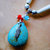 Turquoise and Hairpipe Bone Necklace, Native Style, Handcrafted Jewelry, Tribal