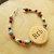 Grandmother Bracelet,Cherokee Language, Seed Bead Jewelry, Handcrafted Jewelry,
